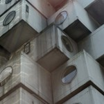 Michael Vlasopoulos just bought a capsule in K.Kurokawa's Nakagin Capsule Tower