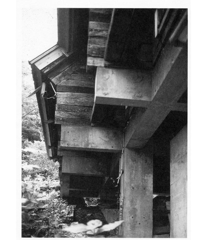 """Concrete Superstructure: Inhabiting A Three-Dimensional Grid: The """"Railway Sleeper"""