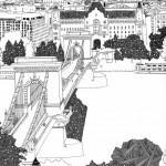 Chris Dent, cities illustrations for John Lang LaSalle