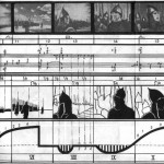 Sergei Eisenstein, sequences diagrams for Alexander Nevsky and Battleship Potëmkin.