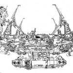 Kazutaka Miyatake's Space Ships