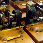 Steampunk looking but actually old Harmonic Synthesizer
