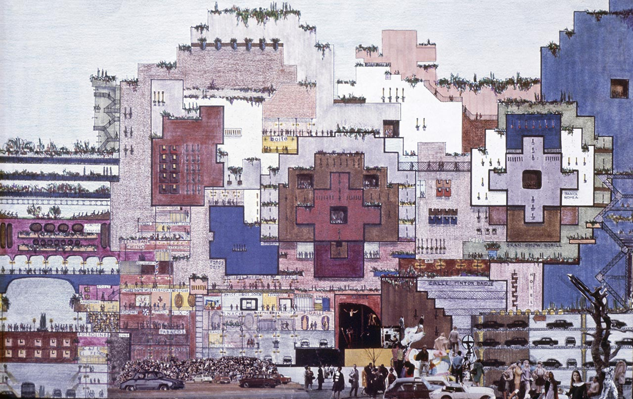 The city in the space by ricardo bofill and taller de - Space madrid ...