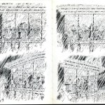 The Little Rain Book (Up and down town) by David Weiss (1975)