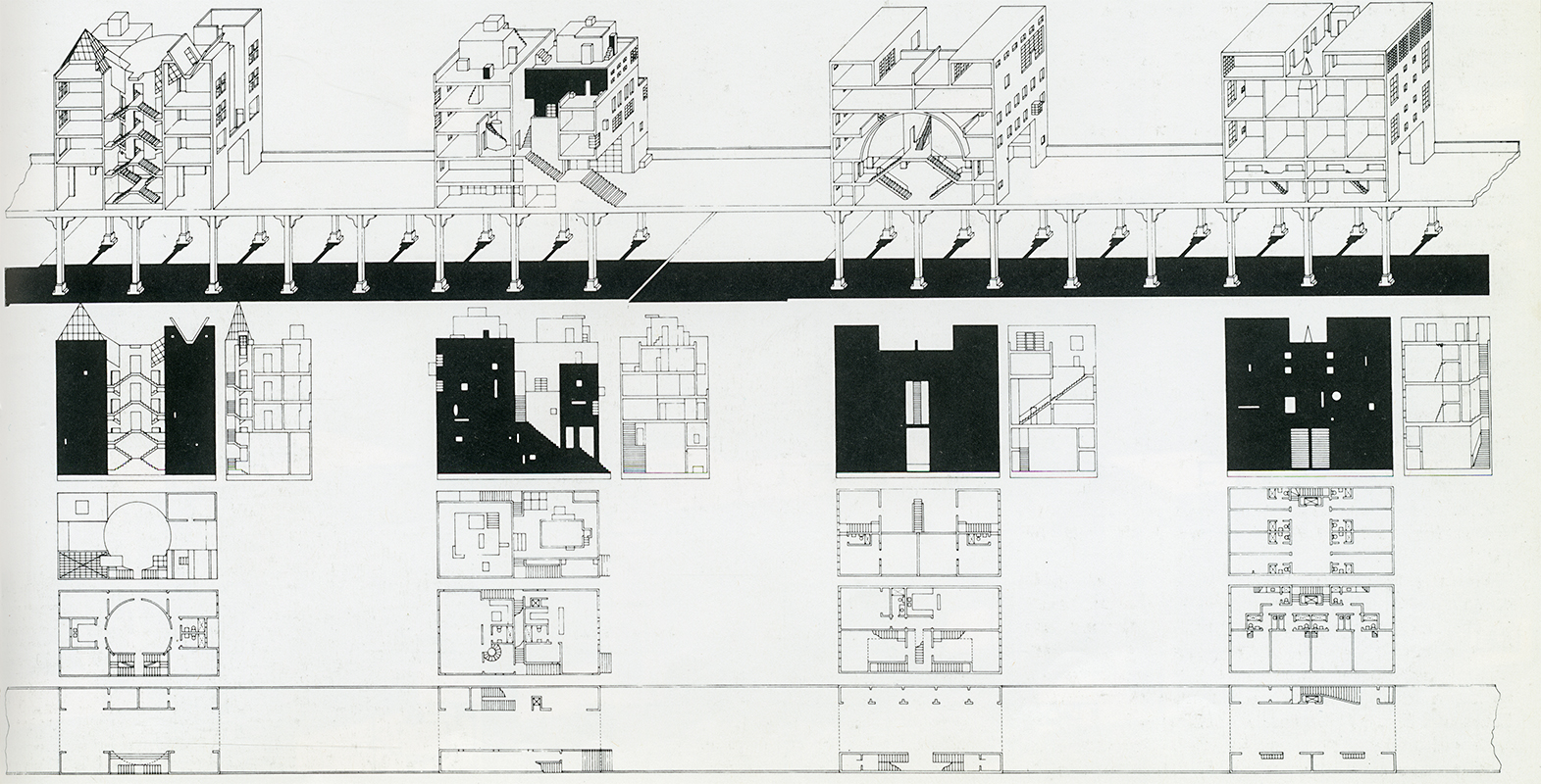 Steven Holls Bridge Of Houses 1979 1982 SOCKS
