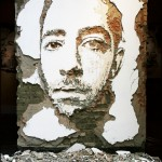 Scratched walls by Alexandre Farto, aka Vhils