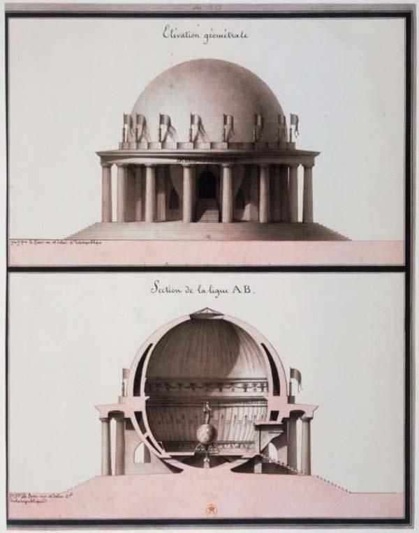 """The """"Temple consacré à l'Egalité"""" Laqueu"""