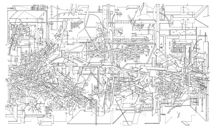 Assignment 4 Multi View Drawing Plan in addition Disney Blue Prints Magic Kingdom Part 5 as well Stock Illustration Linear Architectural Sketch Interior Classroom Perspective Image55511016 also Clip 122485 Stock Footage Binary Data Abstract Background Hd besides Landscape Architecture Drawings. on architectural drawings blueprint