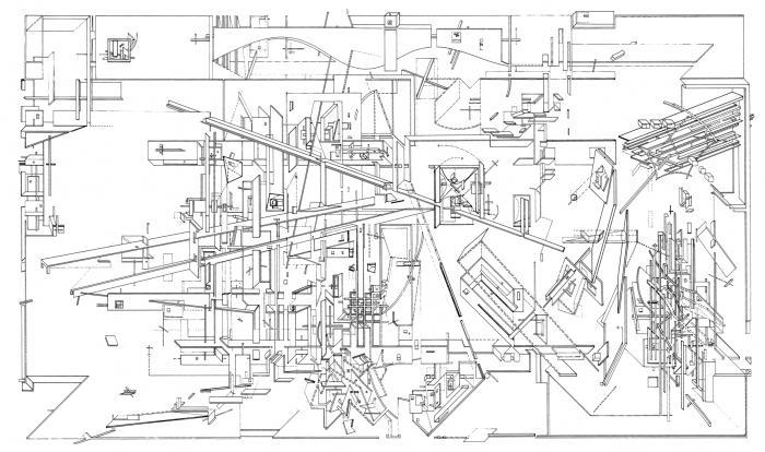Daniel Libeskind S Micromegas 1979 Socks