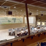 Evolution of Space Mission Control Rooms