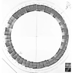"""""""Circular Surface Planar Displacement Drawing"""", 1969 by Michael Heizer"""