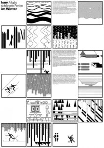 Landscape Pictograms by Otl Aicher SOCKS