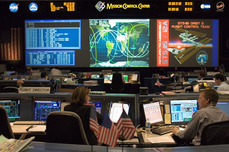 Evolution of Space Mission Control Rooms – SOCKS