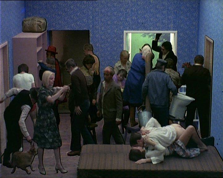 Tango By Zbigniew Rybczyński 1980 Socks