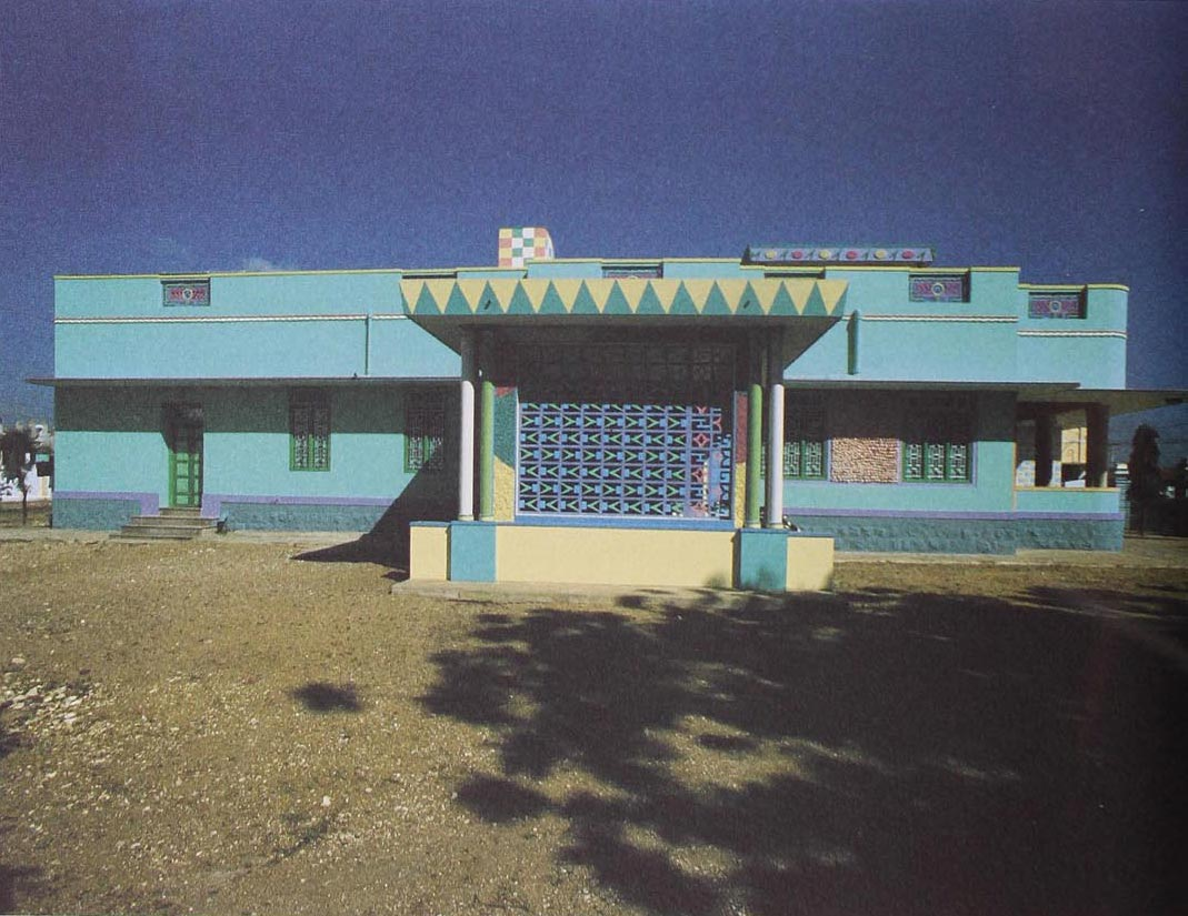 Sattur, India, 1977. Photograph by E.Sottsass