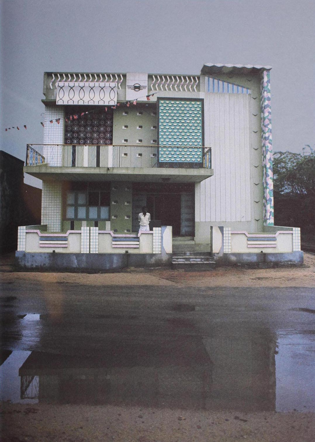 Kanchipuram, India, 1977. Photograph by E.Sottsass
