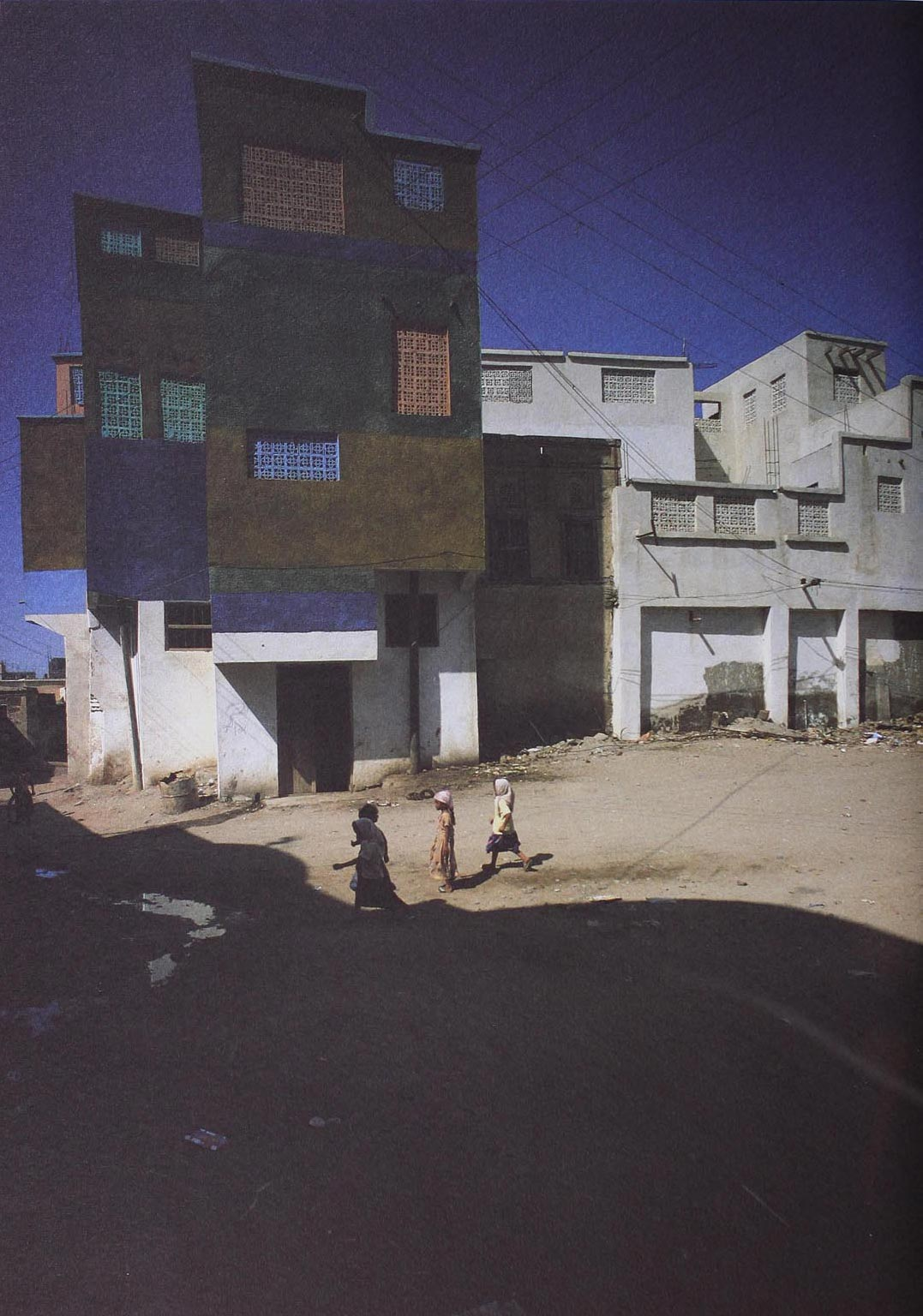 Bayt El Faqih, North Yemen, 1980. Photograph by E.Sottsass