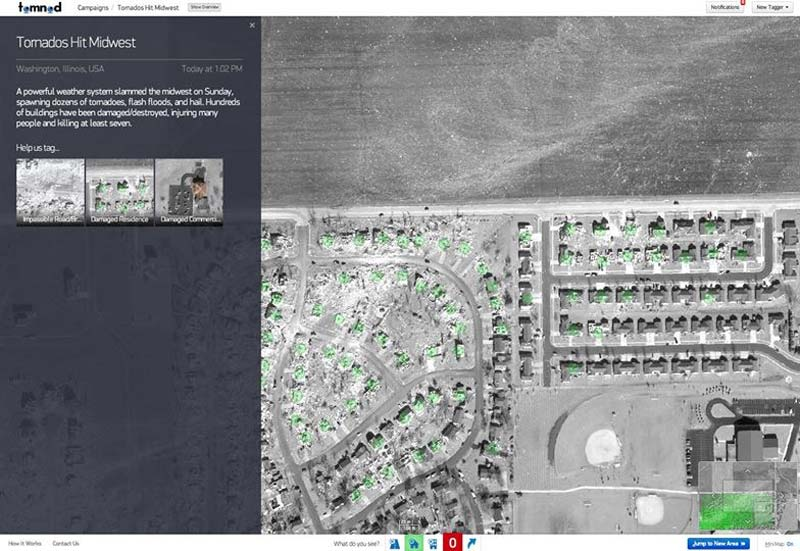 Tomnod: Scan satellite images from your home