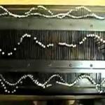 Wheatstone Wave Machine, c. 1875, Physics Dept., Union College, NY. maker: Rudolph Koenig