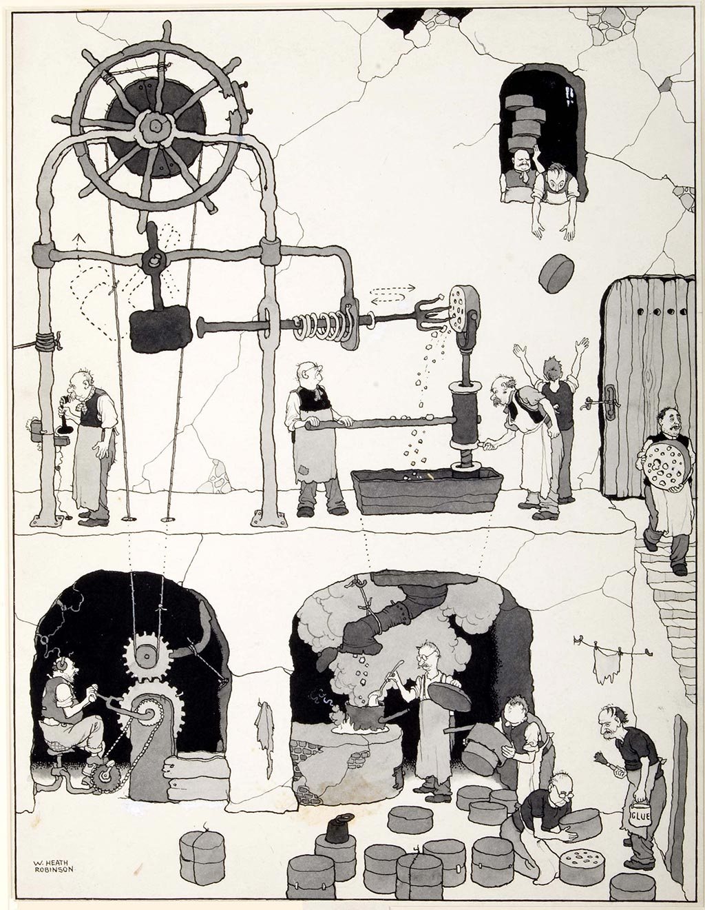 william_heath_robinson_inventions_