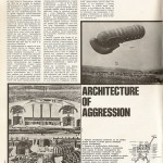 Architecture of Aggression: Buildings, Ideology and Media during Wartime (Casabella 394/1974)