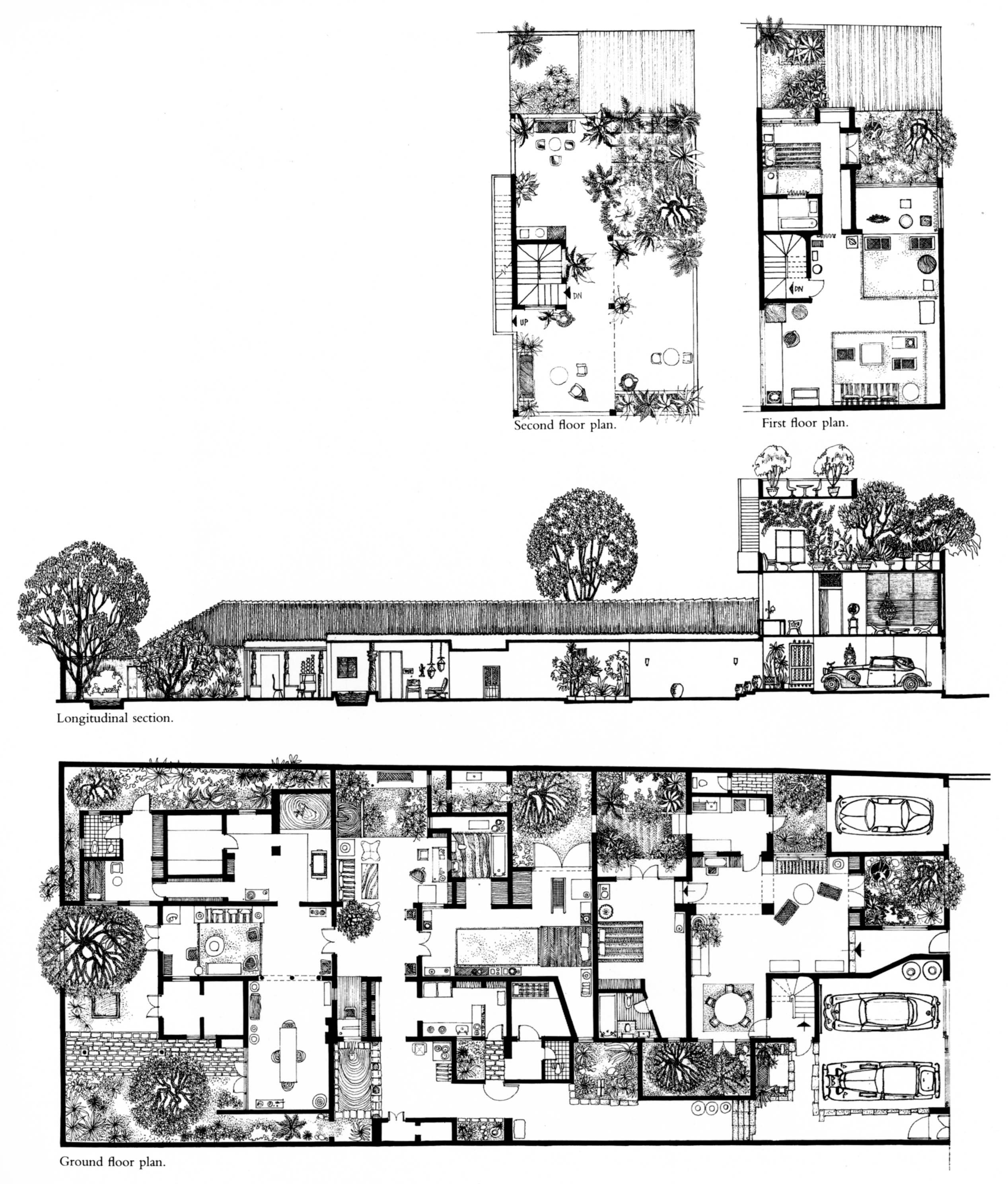 First and second floor plans click to enlarge