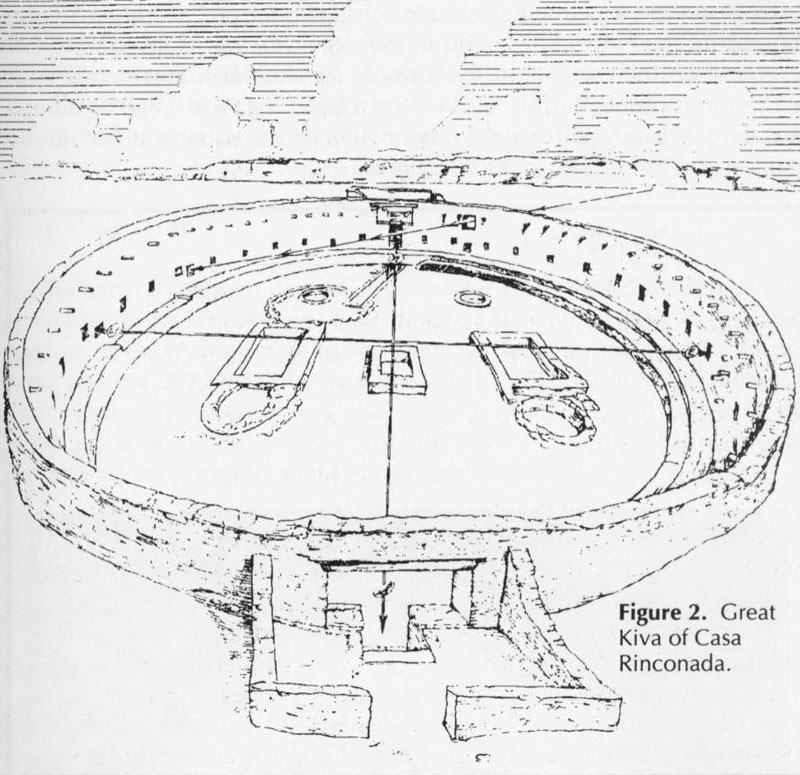 An Ancient Example Of Cluster Planning Pit Houses And Kivas In
