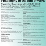 Computational Politics and Architecture: From the Digital Philosophy to the End of Work