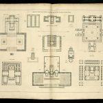 """J.N.L.Durand's """"Divers Édifices publics, d'après le Champ de Mars de Piranese"""" in """"Recueil et parallèle des édifices de tout genre, anciens et modernes"""" (1800)"""