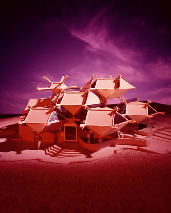 Tortoise House, view of the Model, 1964