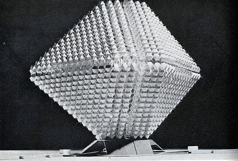 Dwelling City, Model, 1964