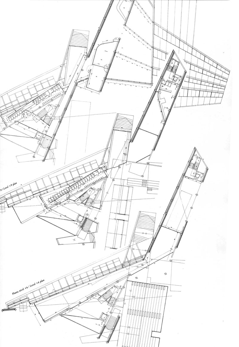 Plan As Map The Funambulist On Miralles Socks