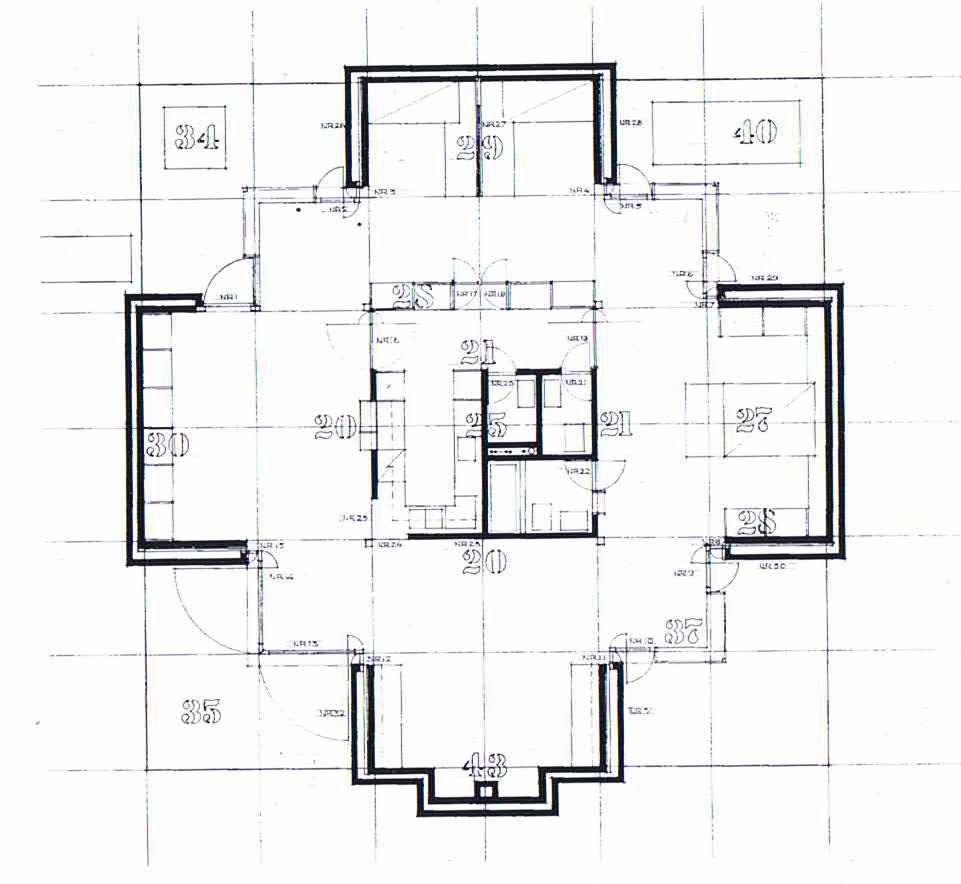 A palladian villa in sweden the norrk ping house by for Palladian house plans