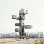 Imaginary buildings by Filip Dujardin