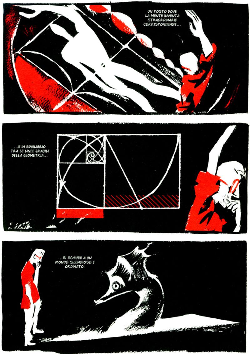 Rosso Oltremare, Coconino Press, 2006 © Manuele Fior