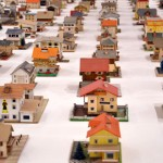 The Imaginary Town of an Unconscious Architect: The 387 Paper Model Houses of Peter Fritz