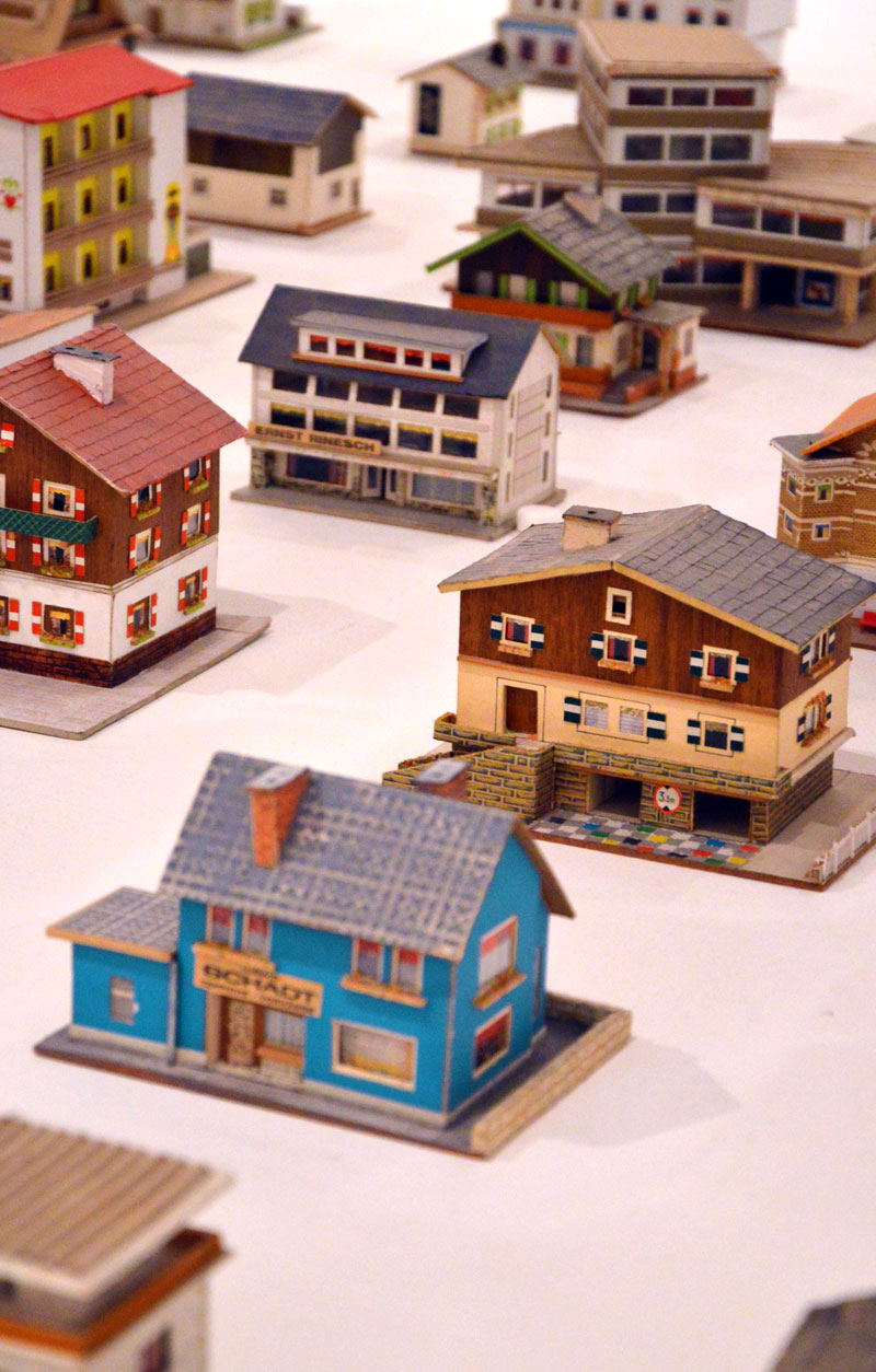 Miniature architecture blog the 387 paper model houses of for House models to build