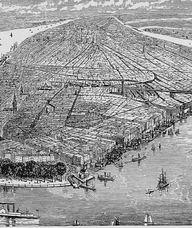 Manhattan Flats: Flat Manhattan (1883)