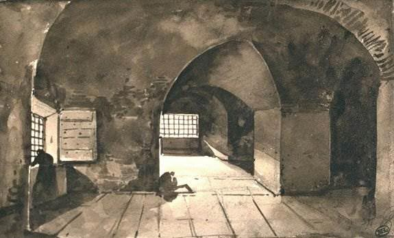 Fran 231 Ois Marius Granet S Spaces Under Vaults Socks