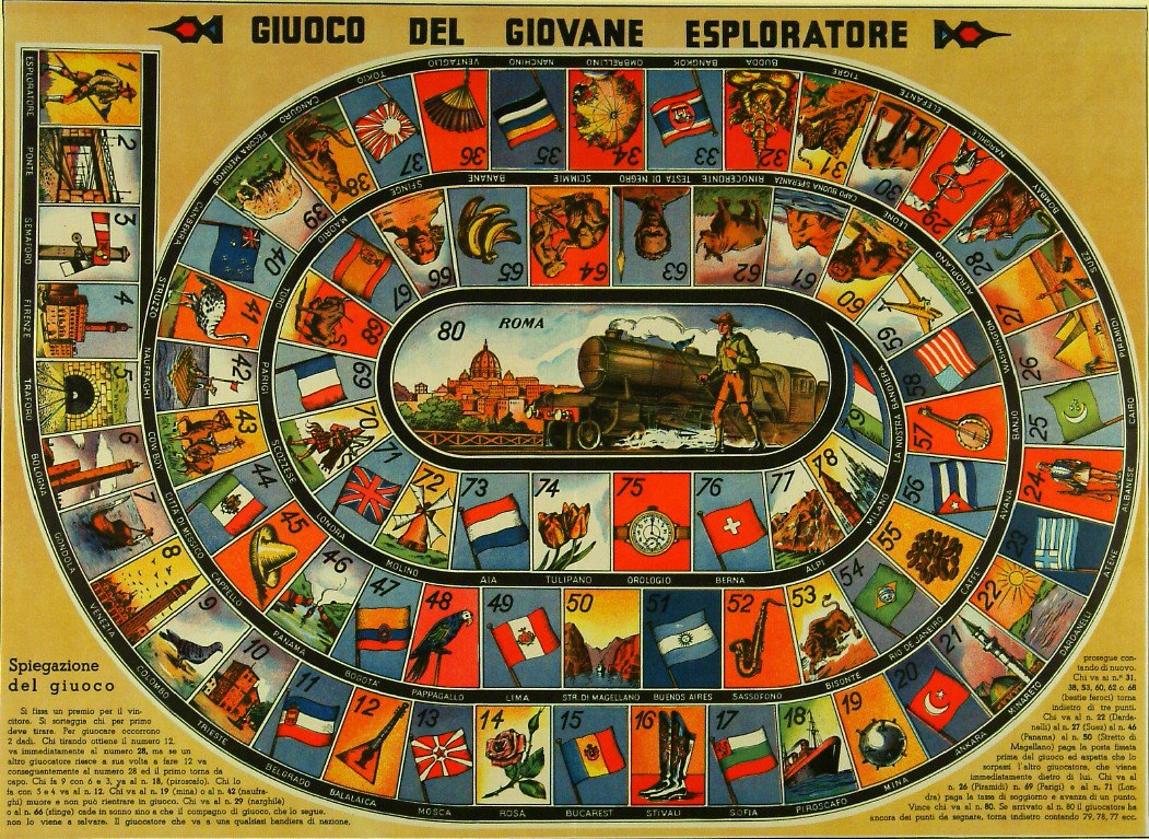 A Collection of Italian Board Games (Mostly 19th to 20th Century ...