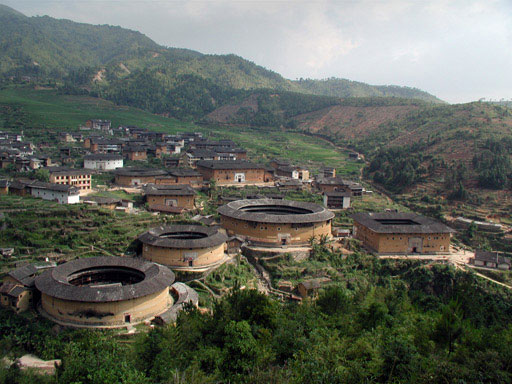 Hakka Tulou traditional Chinese Dwelling