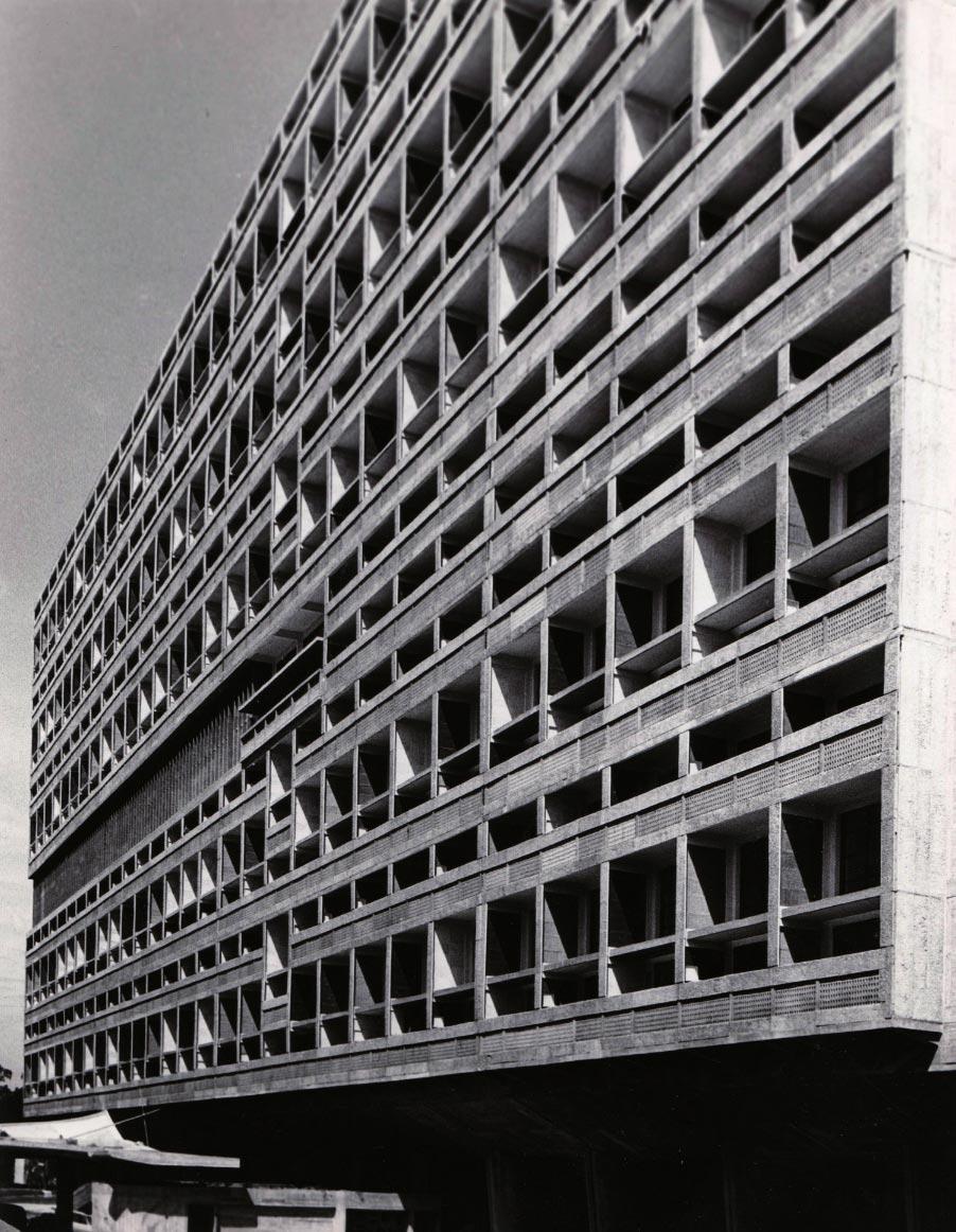 Façade Ouest, Marseille 1949