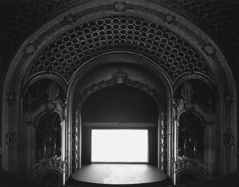 Hiroshi Sugimoto's Theaters Series