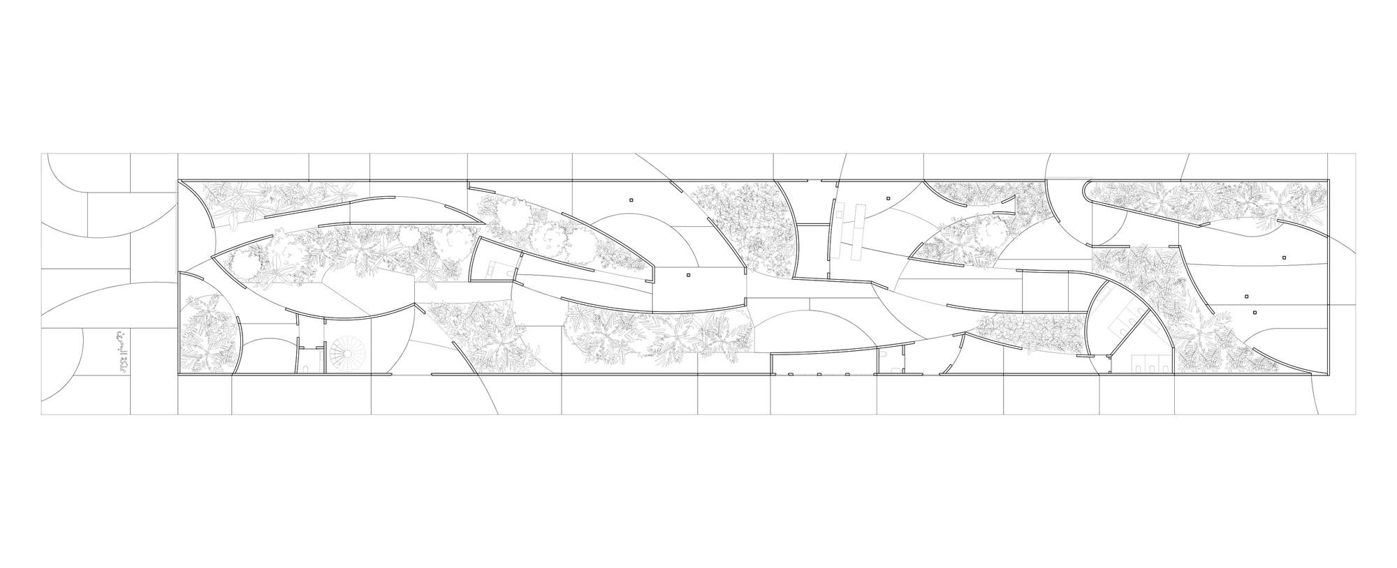 Bahrain Pavilion – Milan Expo 2015 - Floor Plan Via: Archdaily (http://www.archdaily.com/631908/bahrain-pavilion-expo-milano-2015-studio-anne-holtrop)