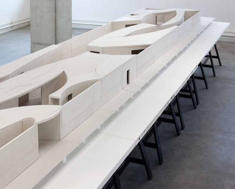 National Pavilion of The Kingdom of Bahrain, first prize invited competition, detailed model 1:16, Expo Milan 2015 (IT), under construction, opening May 1, 2015