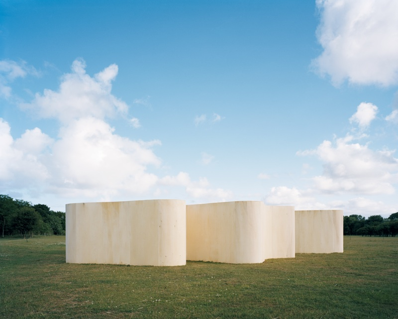 Temporary Museum (Lake), temporary exhibition space, photo by Bas Princen, Heemskerk (NL), 2010