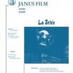 Chris Marker's La Jetée Study Guide