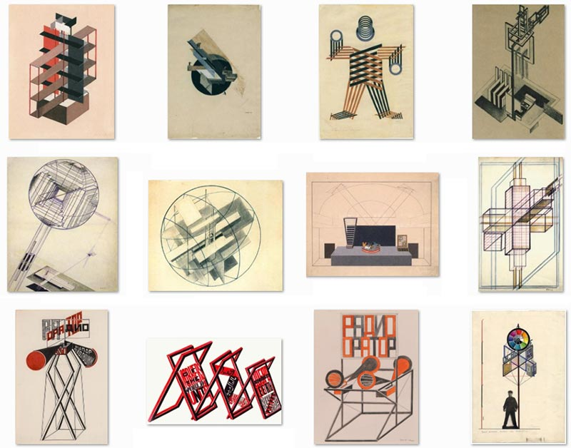 Gustavs Klucis's 'Constructions' and Other Works