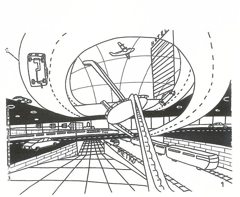 Oma Rem Koolhaas Early Sketches Socks