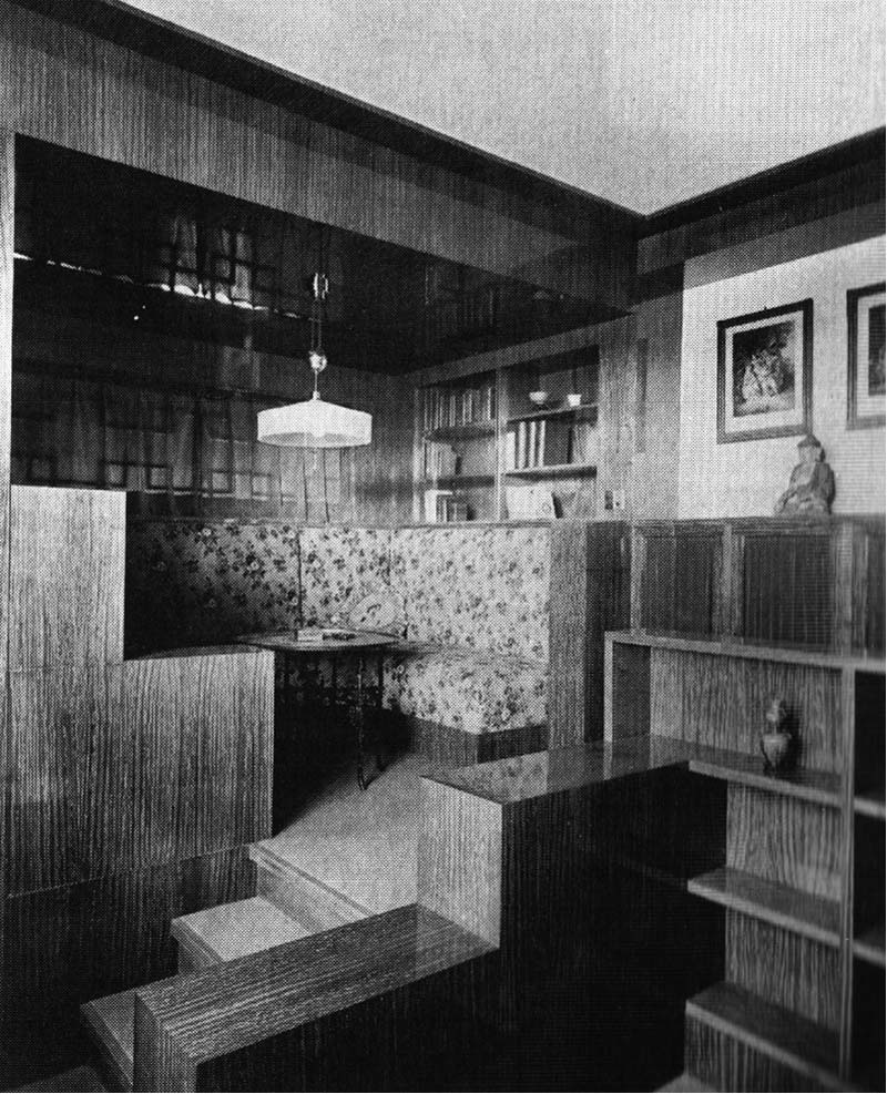 I do not draw plans facades or sections adolf loos and for The interiors house